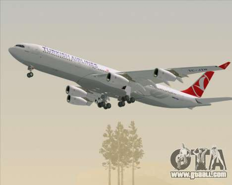 Airbus A340-313 Turkish Airlines for GTA San Andreas