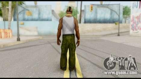 MR T Skin v4 for GTA San Andreas second screenshot