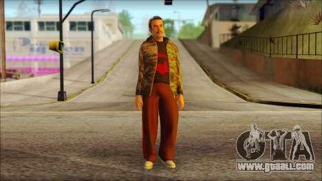 GTA 5 Ped 9 for GTA San Andreas