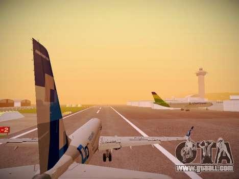 Embraer E190 TRIP Linhas Aereas Brasileira for GTA San Andreas engine