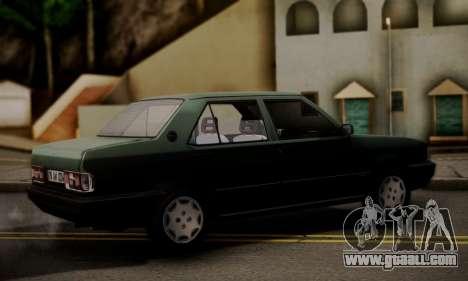 Tofas Dogan SLX 1999 1.6 for GTA San Andreas left view