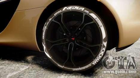 McLaren 650S Spider 2014 [EPM] Yokohama ADVAN v2 for GTA 4 back view