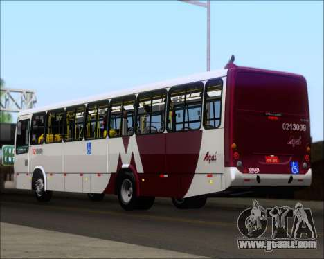 Marcopolo Torino G7 2007 - Volvo B270F for GTA San Andreas back left view