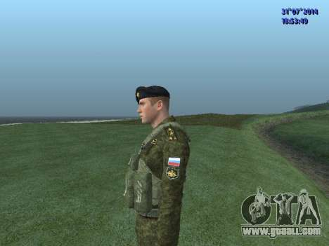 The Officer Of The Marine Corps for GTA San Andreas fifth screenshot