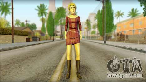 Vivian from Wolf Among Us for GTA San Andreas