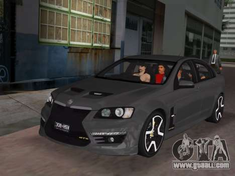 Holden HSV GTS 2011 for GTA Vice City interior