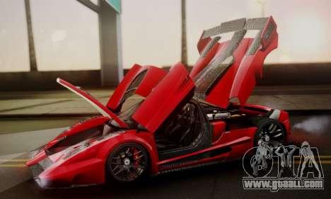Ferrari Gemballa MIG-U1 for GTA San Andreas engine