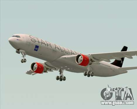 Airbus A330-300 SAS (Star Alliance Livery) for GTA San Andreas engine