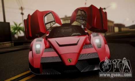 Ferrari Gemballa MIG-U1 for GTA San Andreas back view