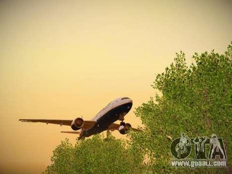 Boeing 777-2Q8ER Orenair Airlines for GTA San Andreas inner view