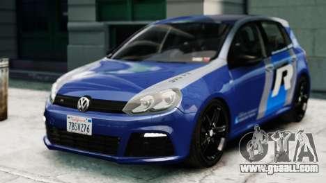 Volkswagen Golf R 2010 ABT Paintjob for GTA 4