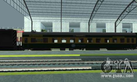 Garib Rath Express for GTA San Andreas left view