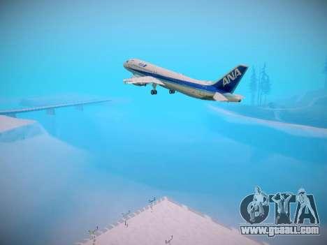 Airbus A320-211 All Nippon Airways for GTA San Andreas wheels