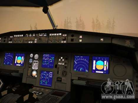 Airbus A340-300 Virgin Atlantic for GTA San Andreas wheels