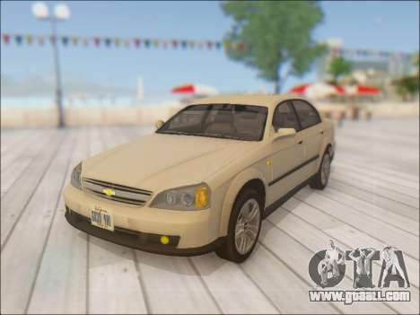 Chevrolet Evanda for GTA San Andreas