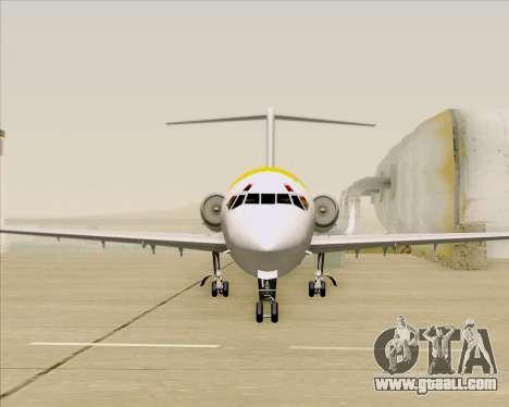McDonnell Douglas MD-82 Iberia for GTA San Andreas interior