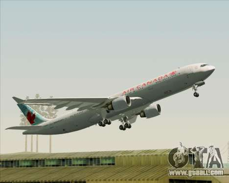 Airbus A330-300 Air Canada for GTA San Andreas engine