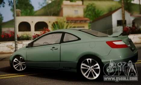 Honda Civic SI 2006 for GTA San Andreas left view