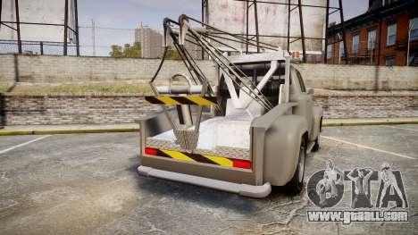 Vapid Tow Truck Jackrabbit for GTA 4 back left view