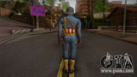 Captain America v2 for GTA San Andreas second screenshot