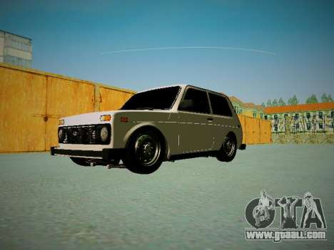 VAZ 2121 for GTA San Andreas side view