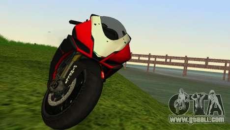 Aprilia RSV4 2009 Edition I for GTA Vice City right view