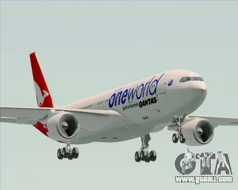 Airbus A330-200 Qantas Oneworld Livery for GTA San Andreas