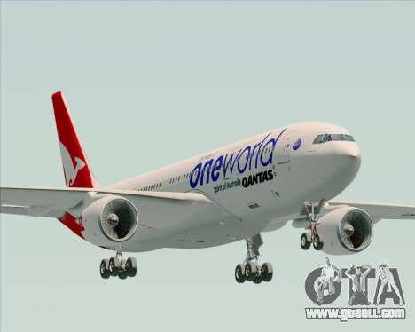 Airbus A330-200 Qantas Oneworld Livery for GTA San Andreas
