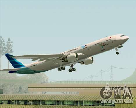 Airbus A330-300 Garuda Indonesia for GTA San Andreas