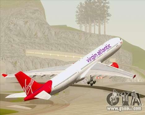 Airbus A330-300 Virgin Atlantic Airways for GTA San Andreas