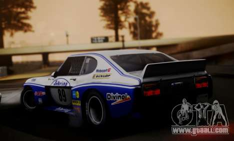 Ford Capri RS Cosworth 1974 Skinpack 2 for GTA San Andreas left view