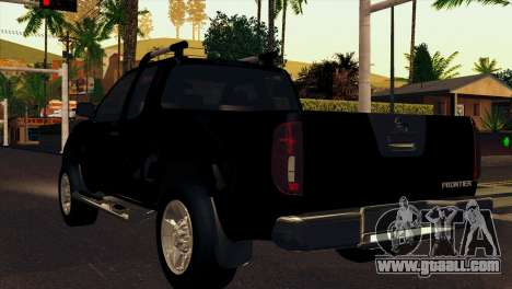 Nissan Frontier 2013 for GTA San Andreas right view