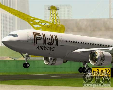 Airbus A330-200 Fiji Airways for GTA San Andreas interior