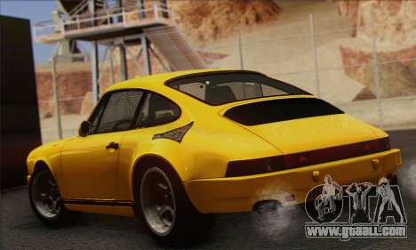 RUF CTR Yellowbird 1987 for GTA San Andreas left view