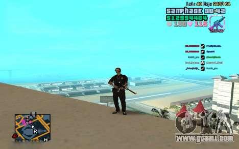 C-HUD GTA Vice City edited SampHack for GTA San Andreas second screenshot