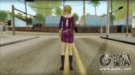 Vivian from Wolf Among Us for GTA San Andreas second screenshot