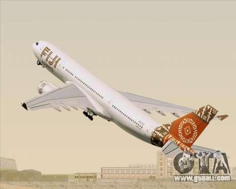 Airbus A330-200 Fiji Airways for GTA San Andreas wheels