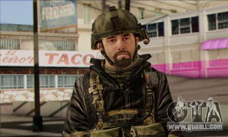 Task Force 141 (CoD: MW 2) Skin 8 for GTA San Andreas third screenshot