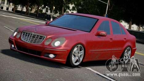 Mercedes-Benz E320 for GTA 4 left view