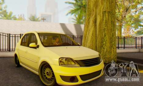 Dacia Logan White for GTA San Andreas