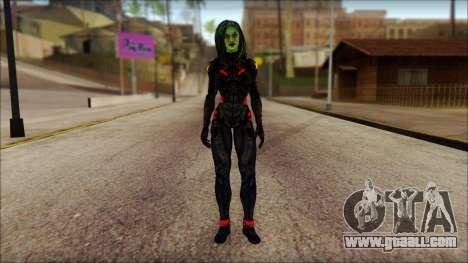 Guardians of the Galaxy Gamora v1 for GTA San Andreas