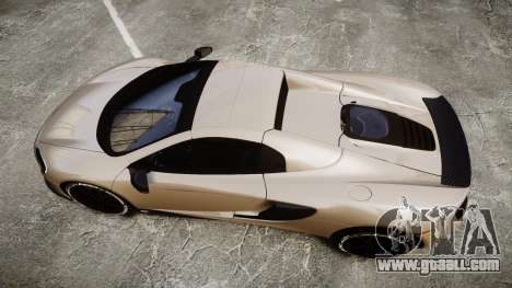 McLaren 650S Spider 2014 [EPM] Yokohama ADVAN v2 for GTA 4 right view