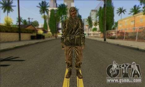 Task Force 141 (CoD: MW 2) Skin 12 for GTA San Andreas