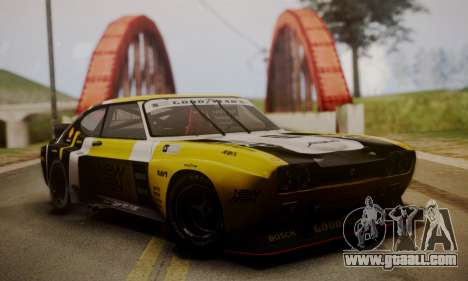 Ford Capri RS Cosworth 1974 Skinpack 2 for GTA San Andreas side view