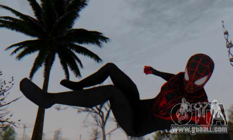 Skin The Amazing Spider Man 2 - New Ultimate for GTA San Andreas forth screenshot