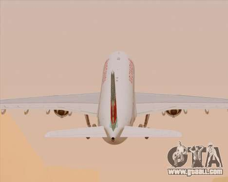 Airbus A330-300 Air Canada for GTA San Andreas wheels