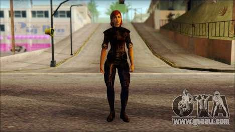 Mass Effect Anna Skin v6 for GTA San Andreas