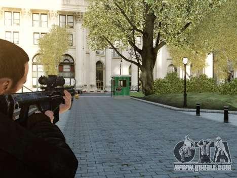 Barrett M107CQ for GTA 4 second screenshot