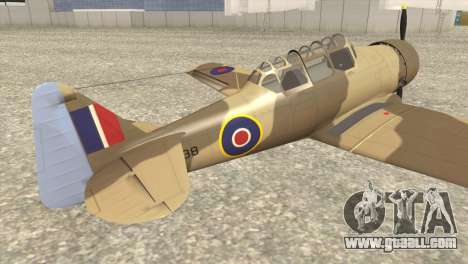 North American T-6 TEXAN AJ838 for GTA San Andreas left view