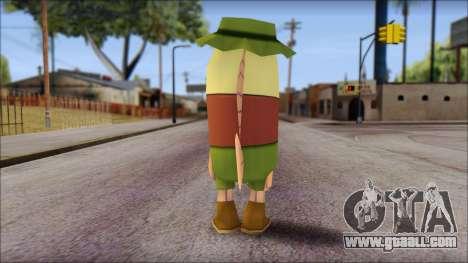 Campguy from Sponge Bob for GTA San Andreas second screenshot